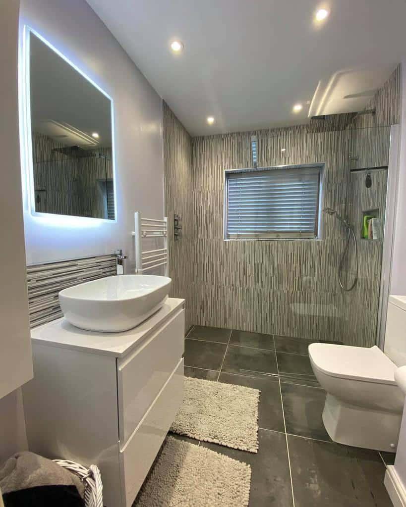 Grey Wet Room Ideas -siwezo