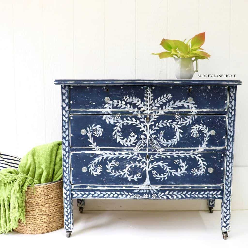 Hand Painted Chalk Paint Furniture Ideas -surrey_lane_home