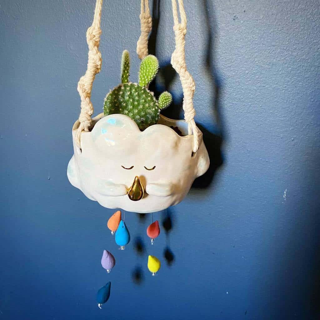 Hanging Succulent Garden Ideas -plantingintheheights