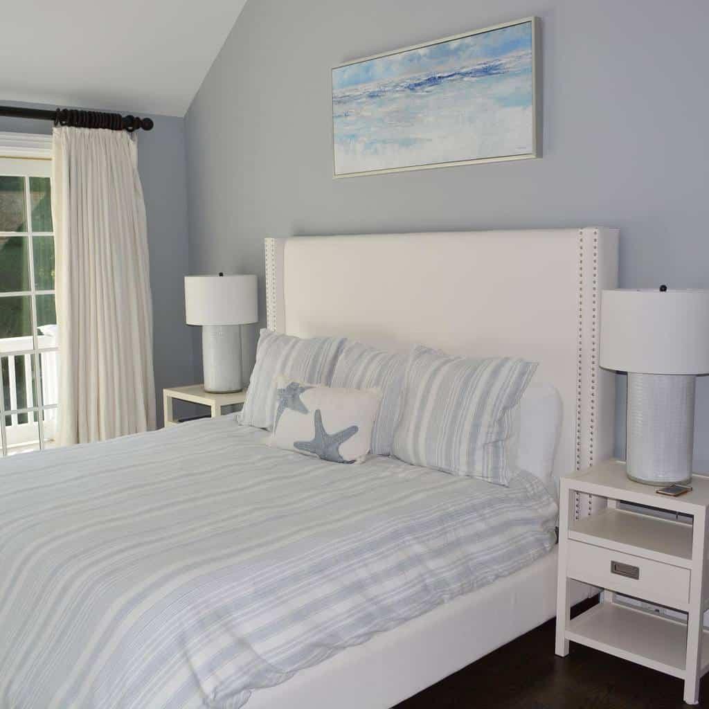 Headboards Coastal Bedroom Ideas -eyeonhome