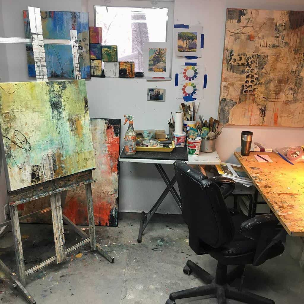 Home Art Studio Ideas -corbettstudio