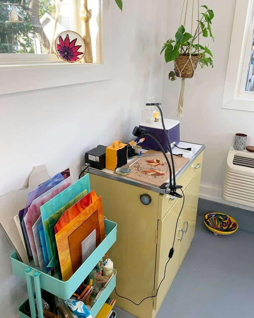 Home Art Studio Ideas -creativestudioongrand