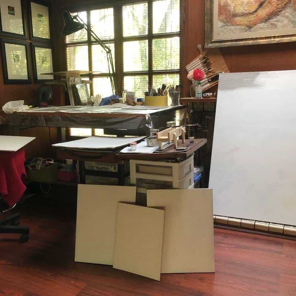 Home Art Studio Ideas -gdixxmigliaart