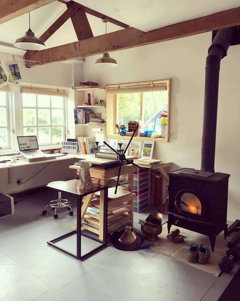 Home Art Studio Ideas -marta_ds_art