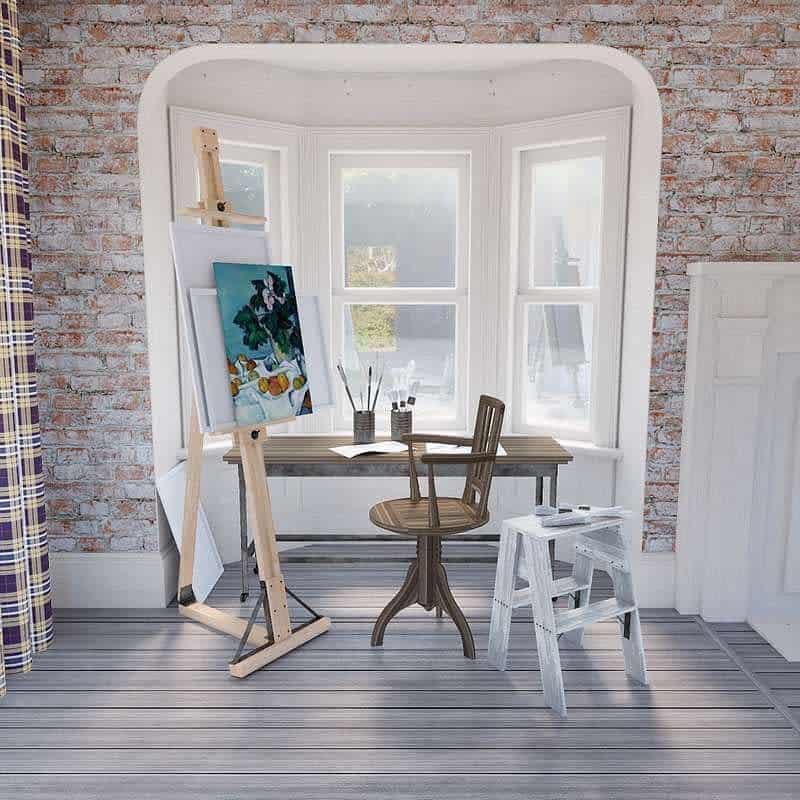 Home Art Studio Ideas -vassofishes
