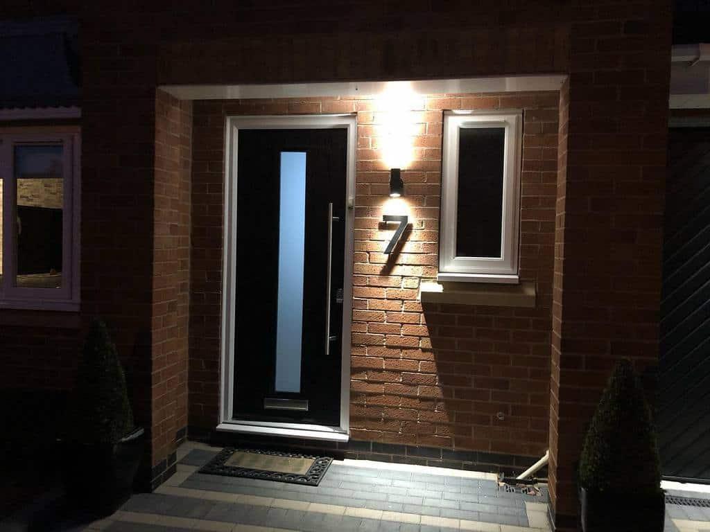Illuminated House Number Ideas -thewalkers_atnumber7