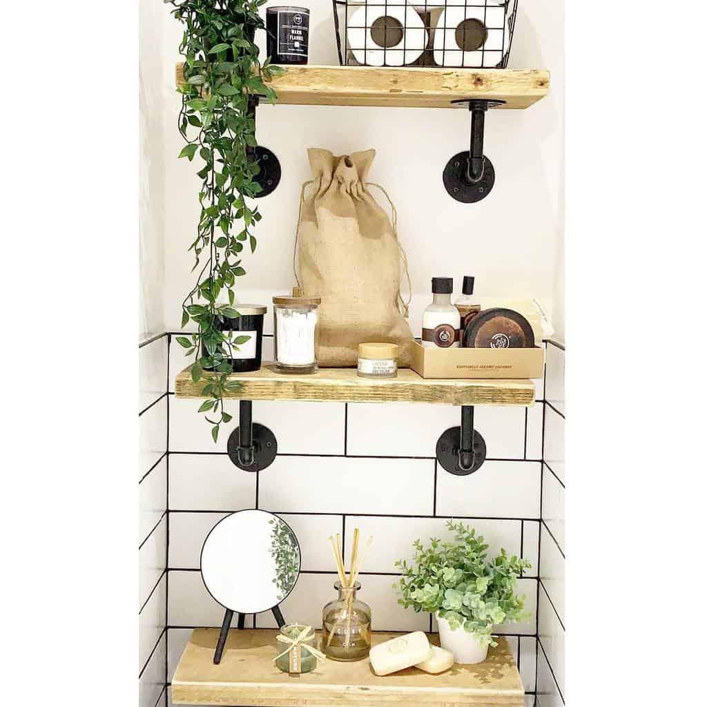 Industrial Floating Shelves Ideas -home.bylarissa
