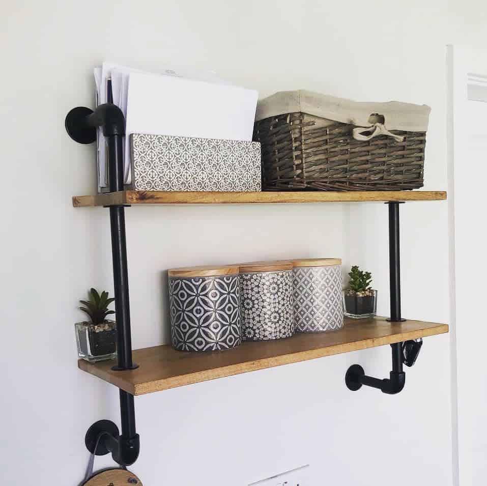 Industrial Floating Shelves Ideas -number22darlington