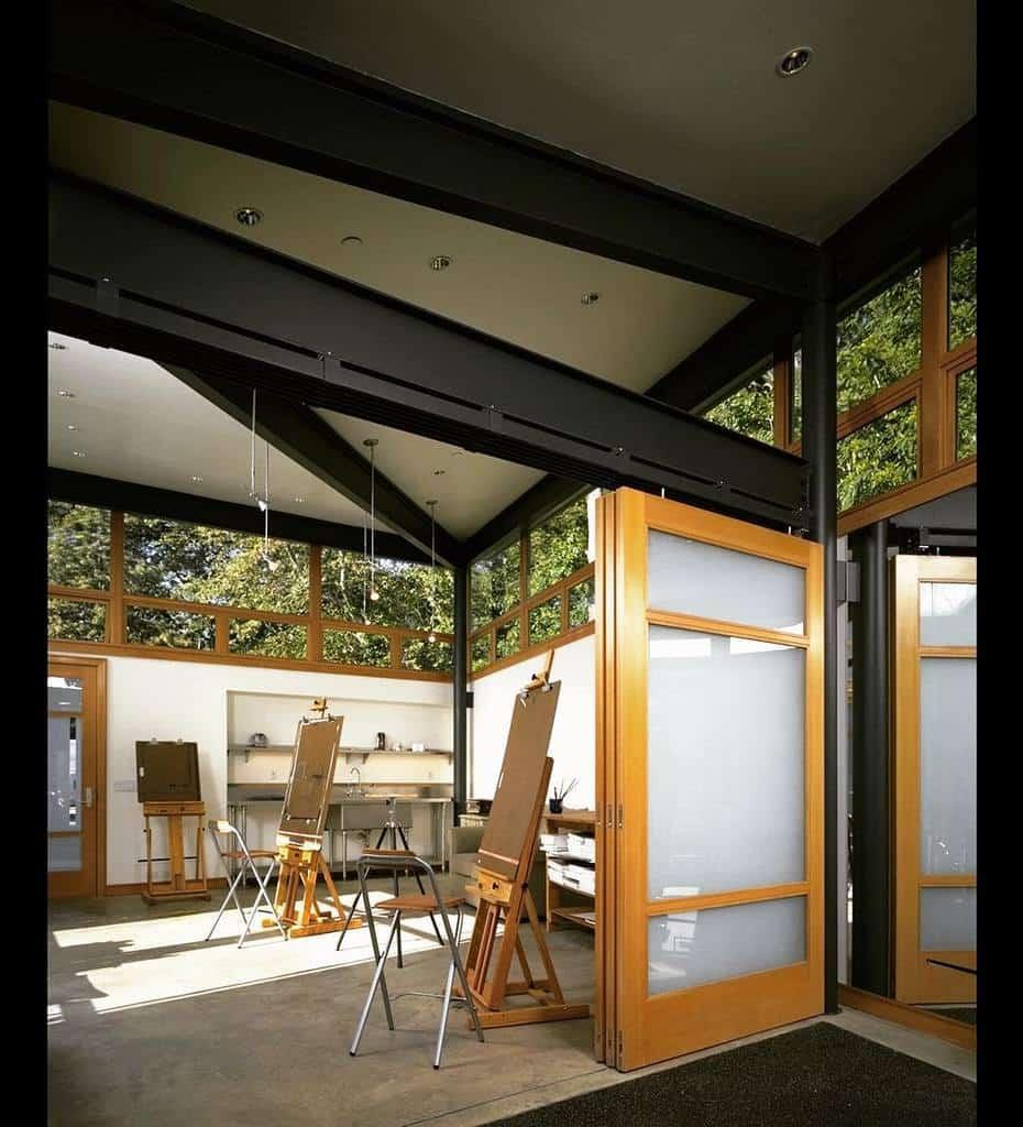 Interior Art Studio Ideas -finne_architects