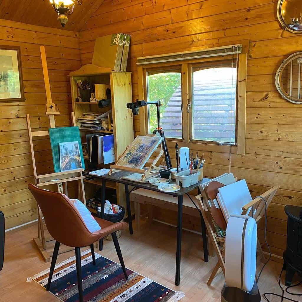 Interior Art Studio Ideas -hakanhingisartchannel