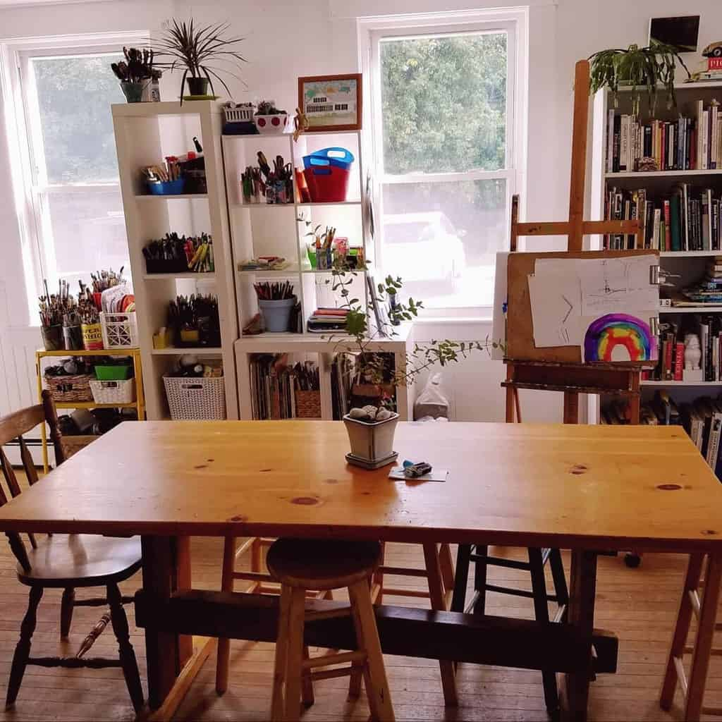 Interior Art Studio Ideas -helenefarrar