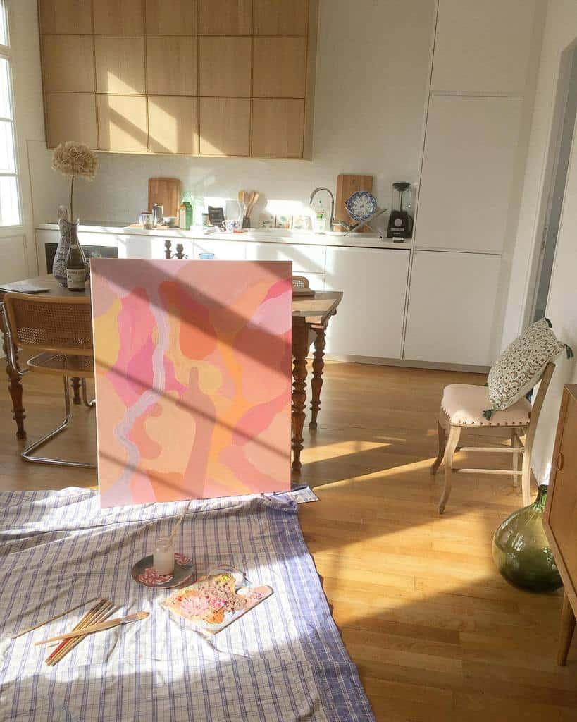 Interior Art Studio Ideas -mari2toucher