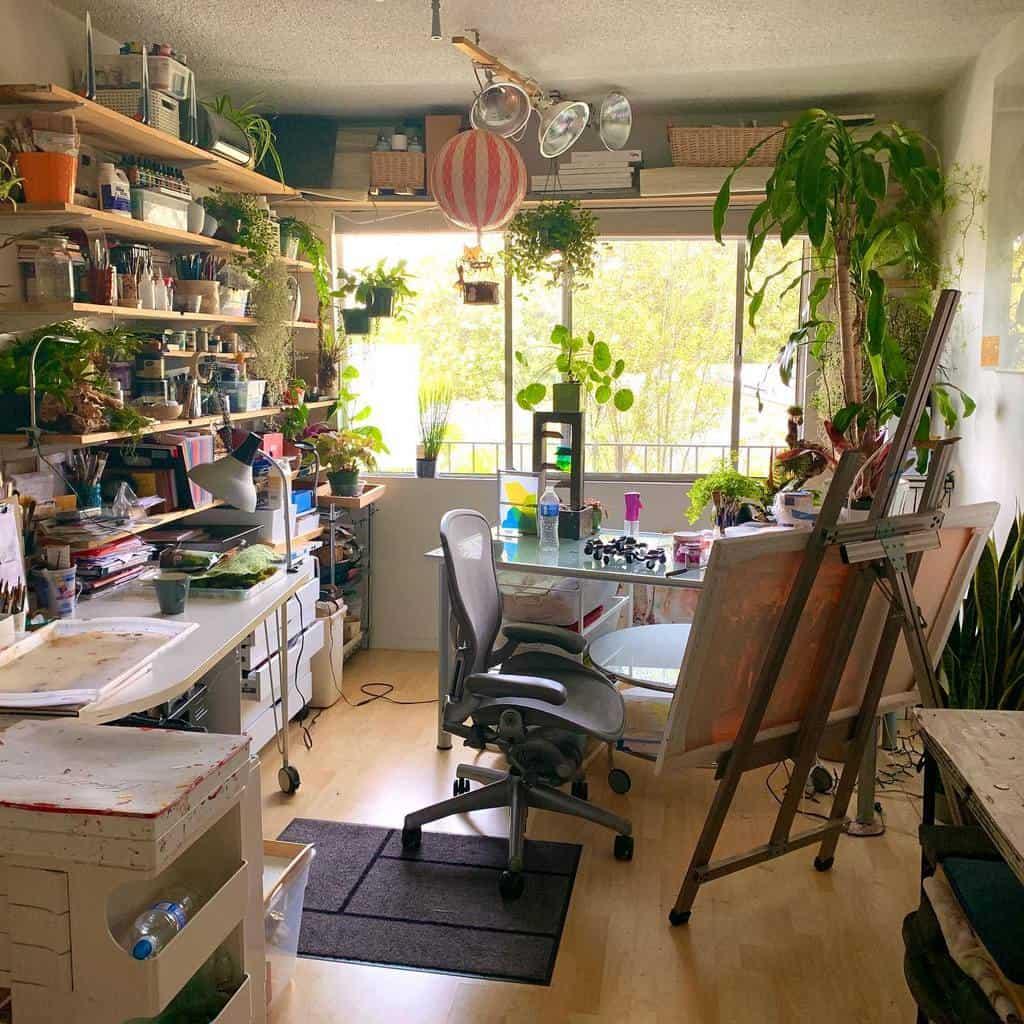 Interior Art Studio Ideas -nature__artstudio