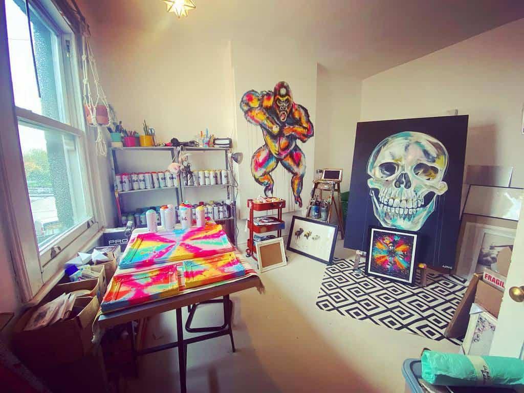 Interior Art Studio Ideas -sophielongart