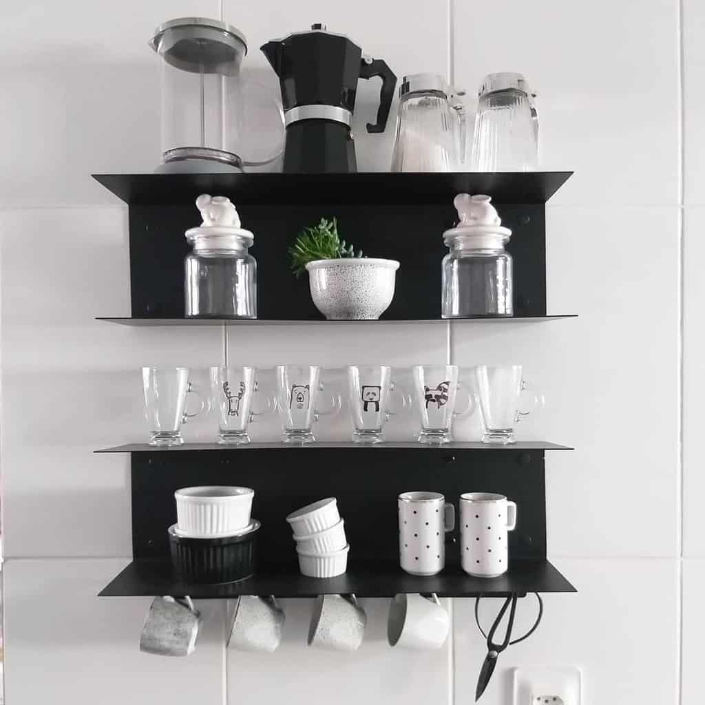 Kitchen Floating Shelves Ideas -4.4home