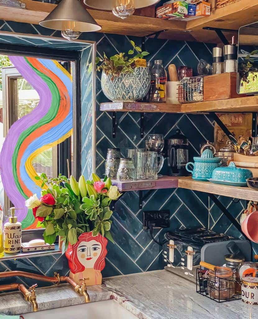 Kitchen Floating Shelves Ideas -bunnipunch