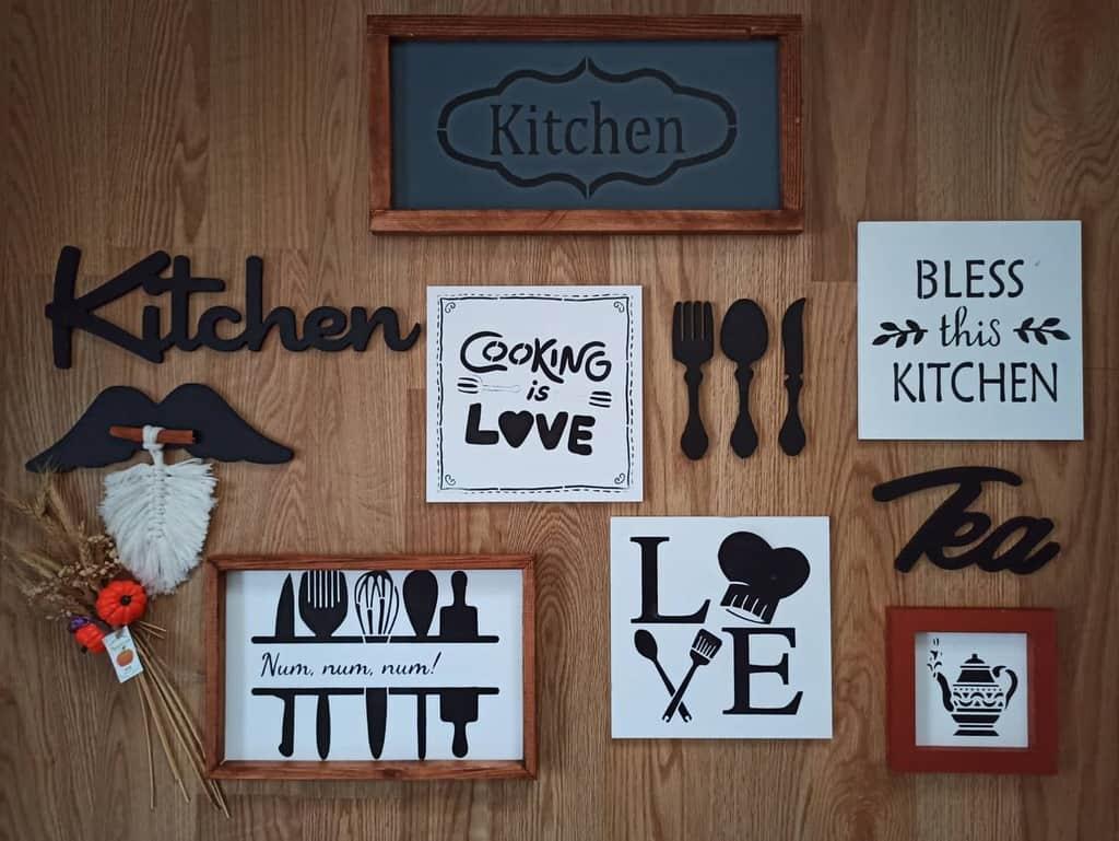 Kitchen Wood Sign Ideas -masalsiyum