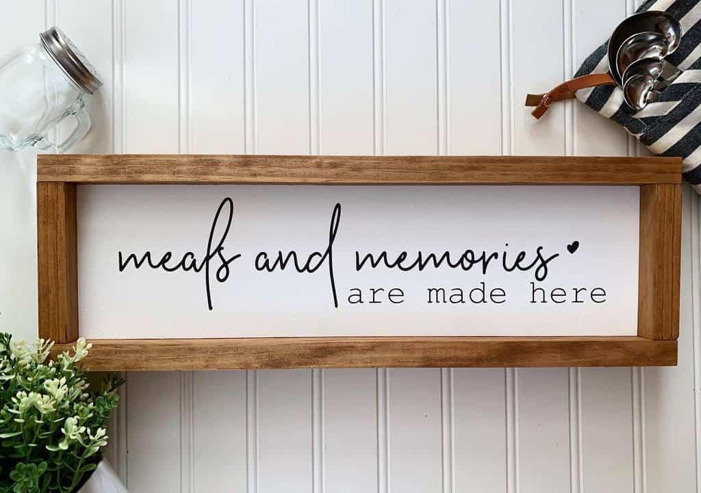 Kitchen Wood Sign Ideas -masedesignsnj