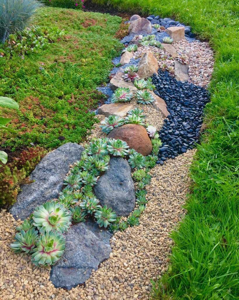 Landscape Succulent Garden Ideas -thranholms_garden