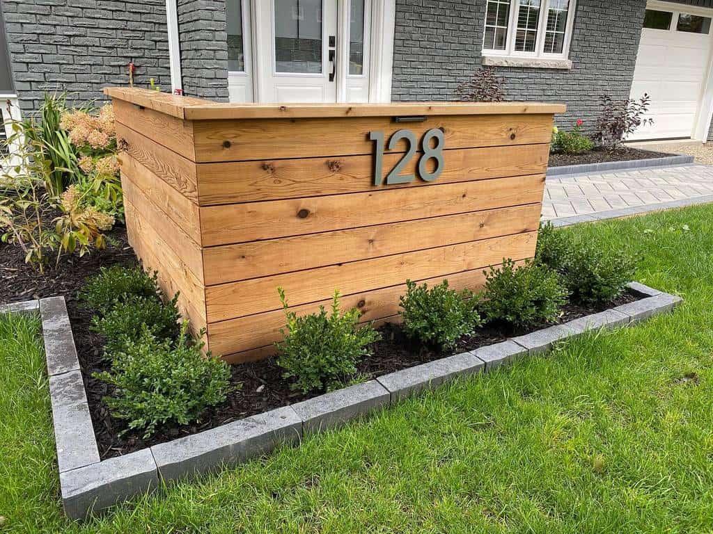Lawn Decor House Number Ideas -klutchlandscapinginc
