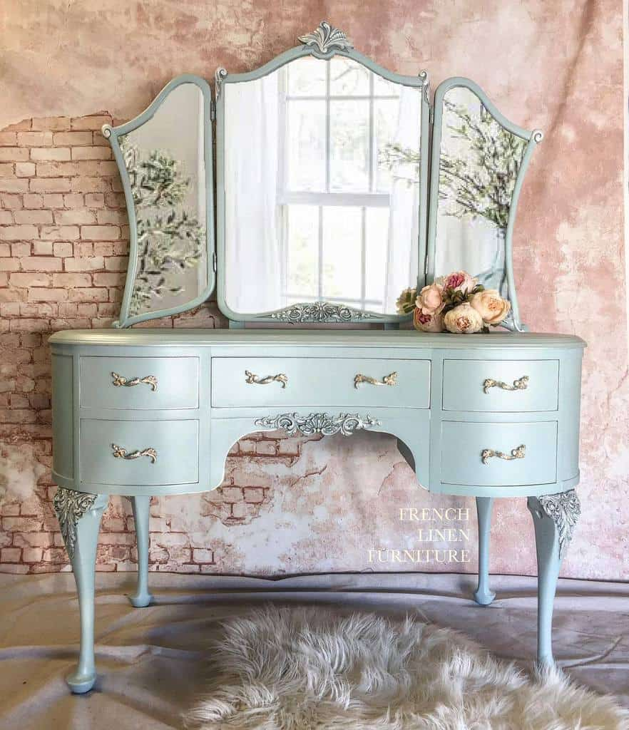 Light Color Chalk Paint Furniture Ideas -frenchlinenfurniture