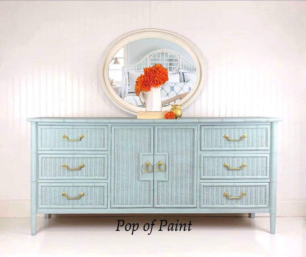 Light Color Chalk Paint Furniture Ideas -popofpaintnc