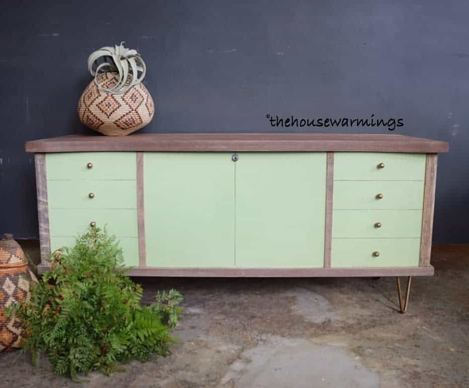Light Color Chalk Paint Furniture Ideas -thehousewarmings