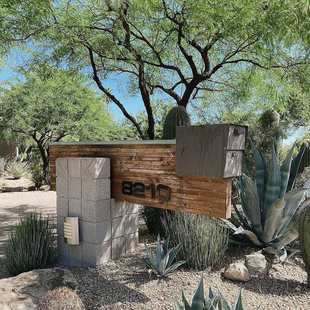 Mailbox House Number Ideas -mailboxes_fordays