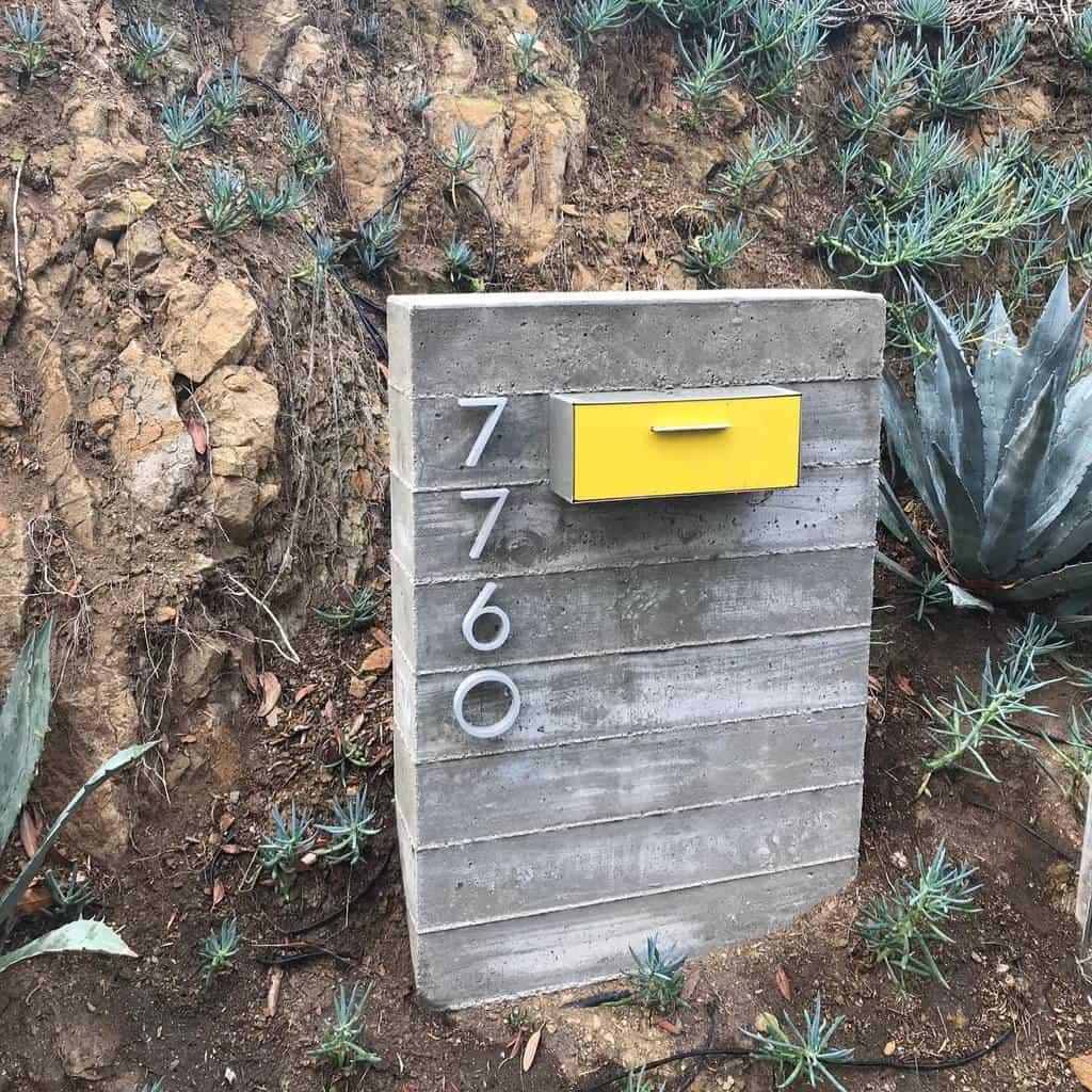 Mailbox House Number Ideas -modboxusa