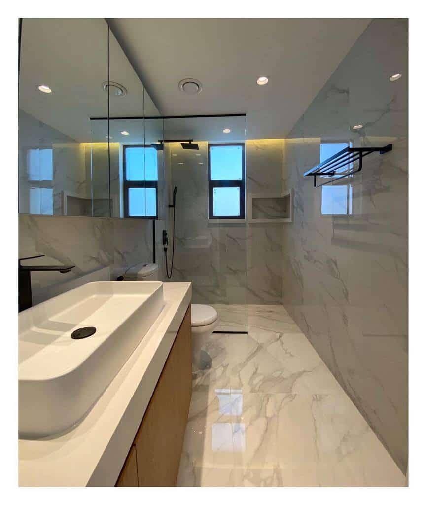 Marble Wet Room Ideas -cyana.ae