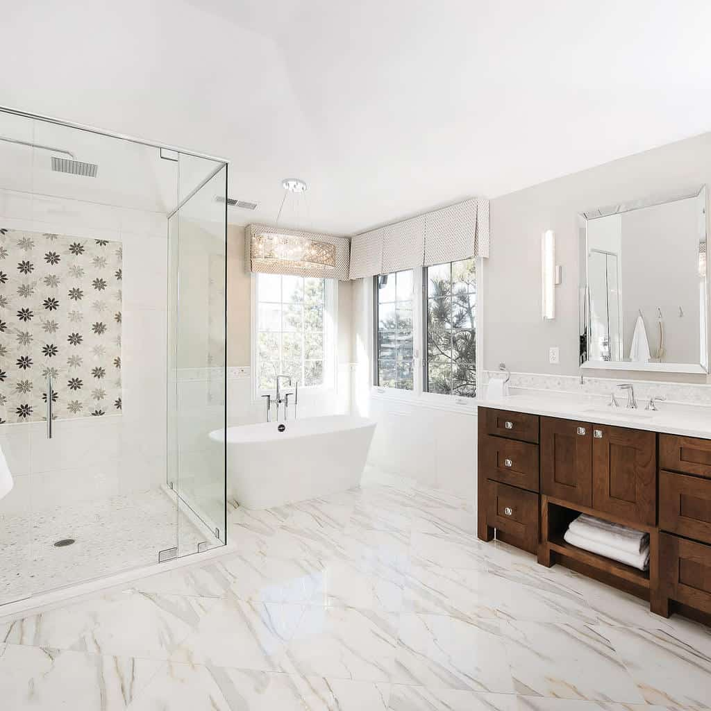 Marble Wet Room Ideas -denverdesigngroup
