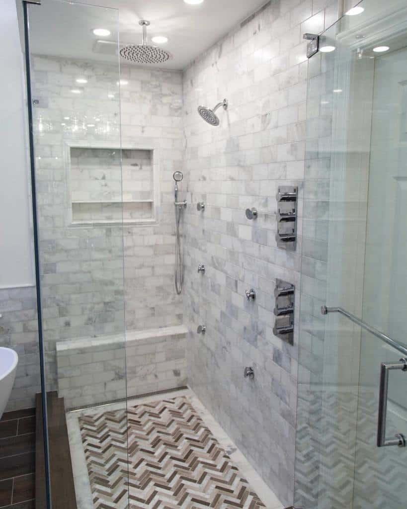 Marble Wet Room Ideas -edselandcompany