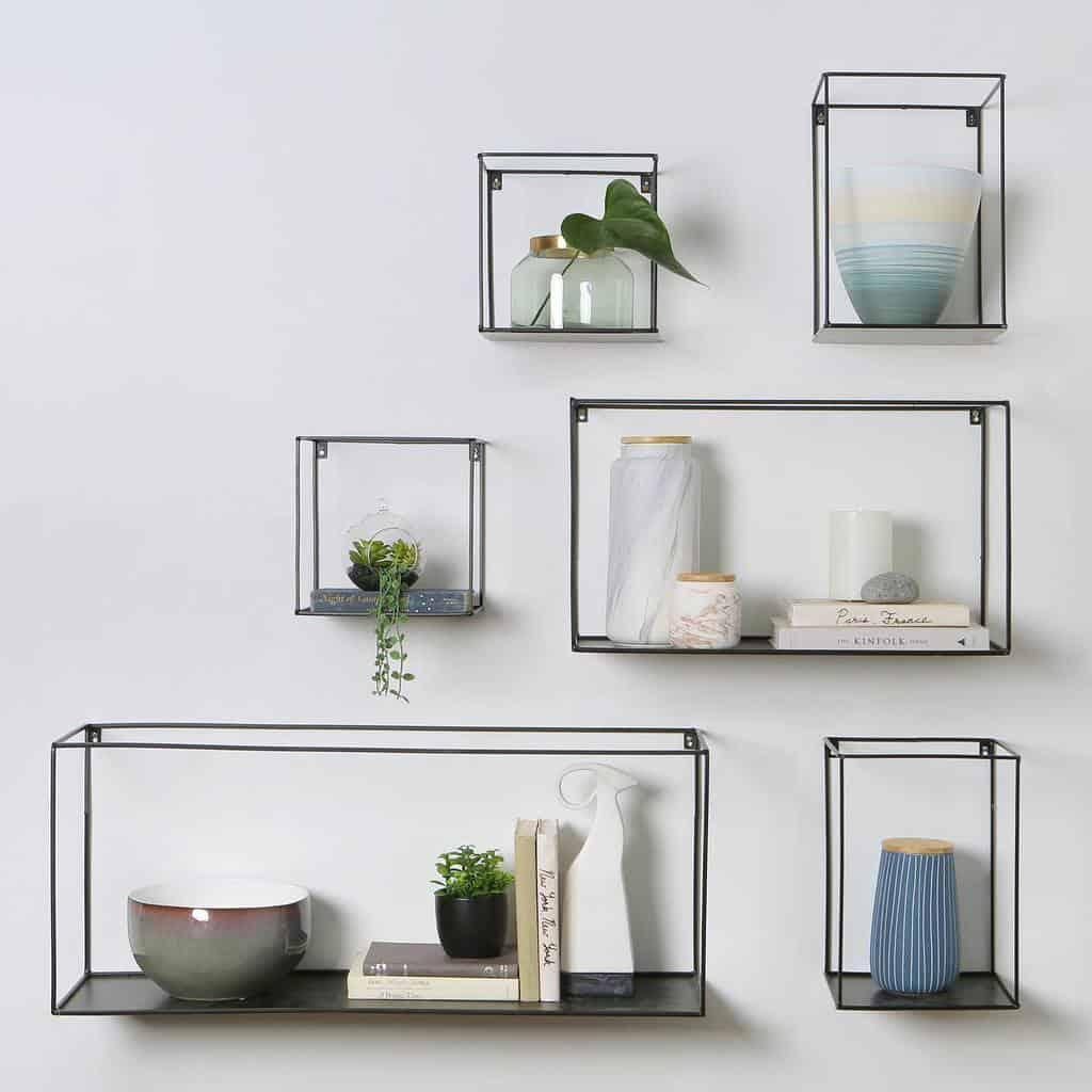 Metal Floating Shelves Ideas -daniafurniture