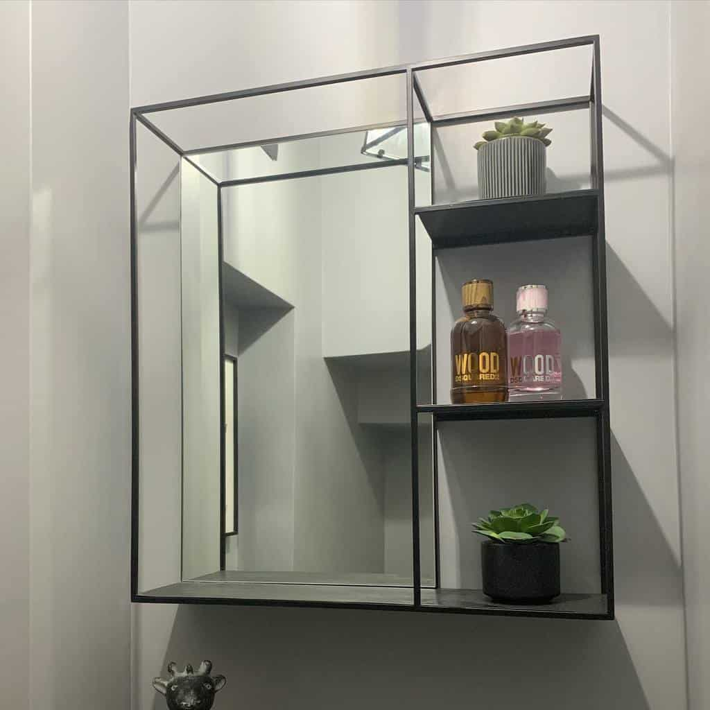 Metal Floating Shelves Ideas -no.8our_1930s_home