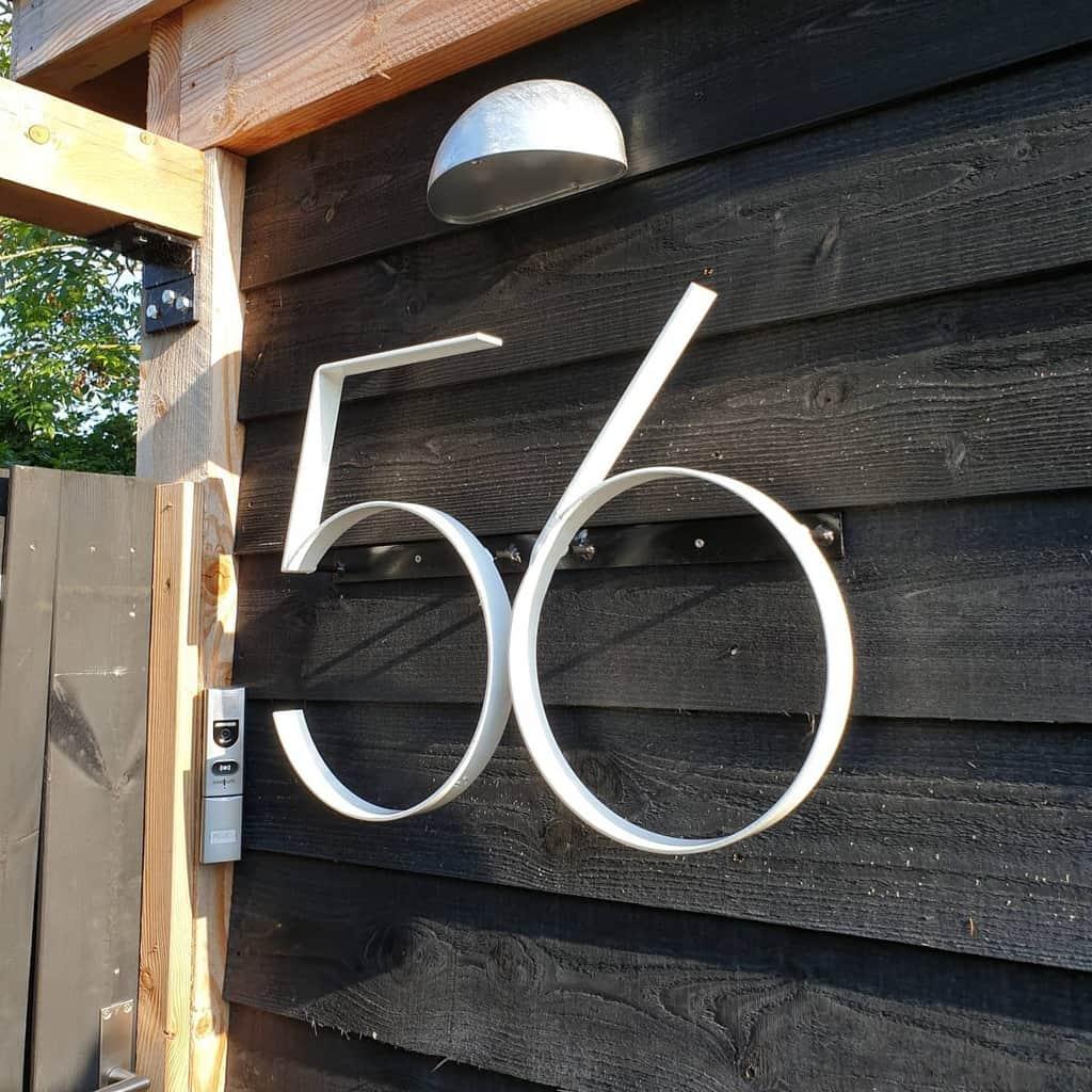 Metal House Number Ideas -crs_john_aipassa