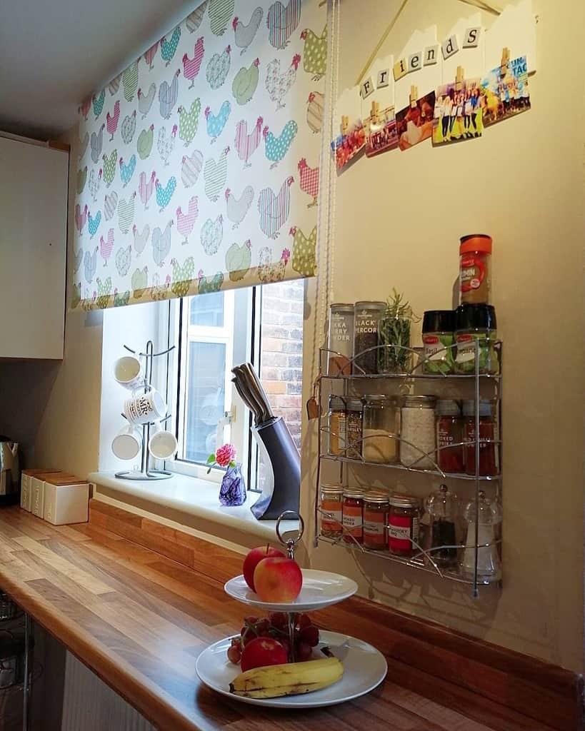 Metal Kitchen Shelf Ideas -my_happy_home_x
