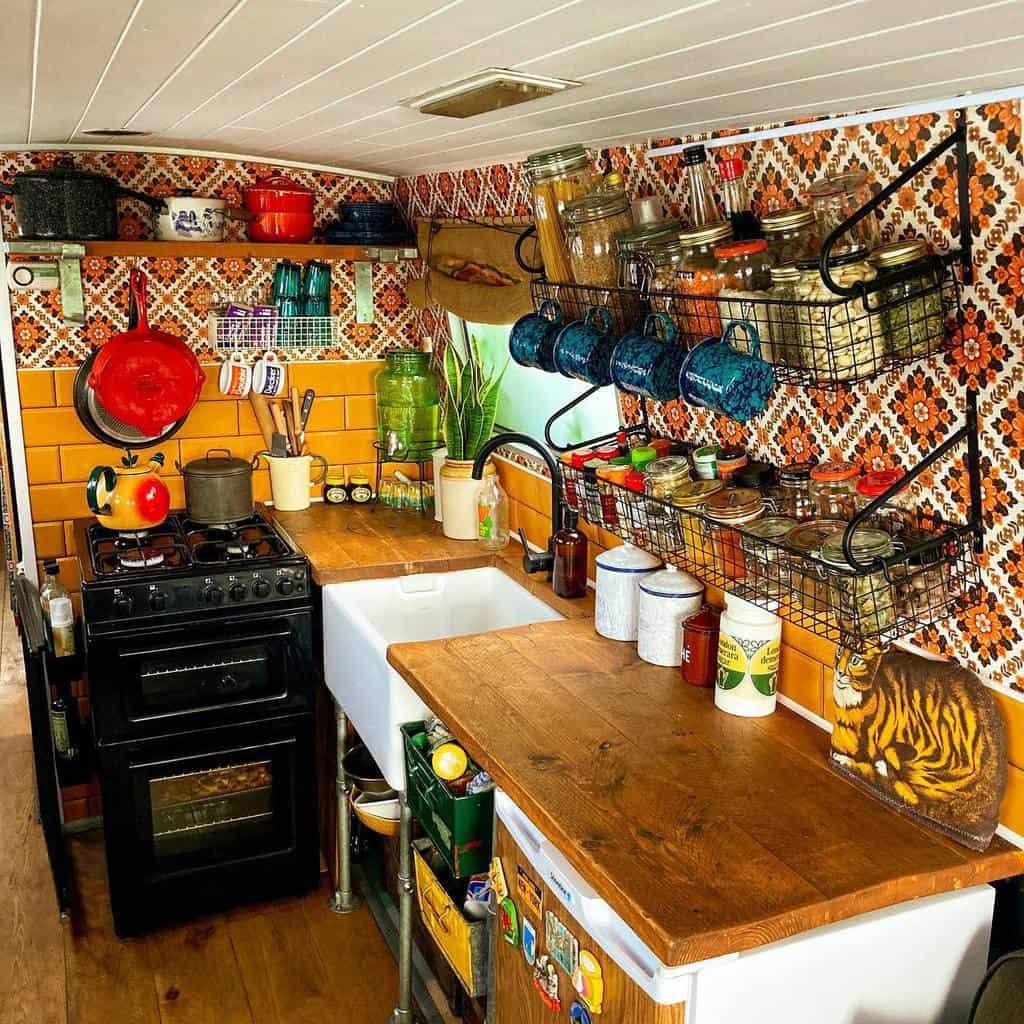Metal Kitchen Shelf Ideas -windlass_and_tiller