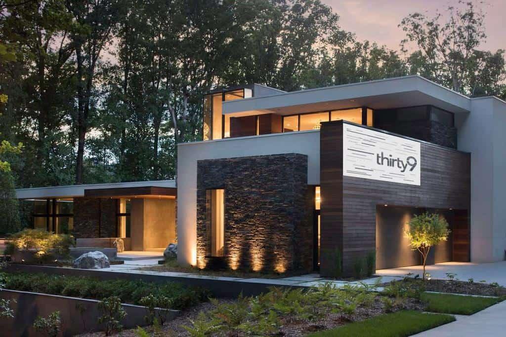 Modern House Number Ideas -design11_za