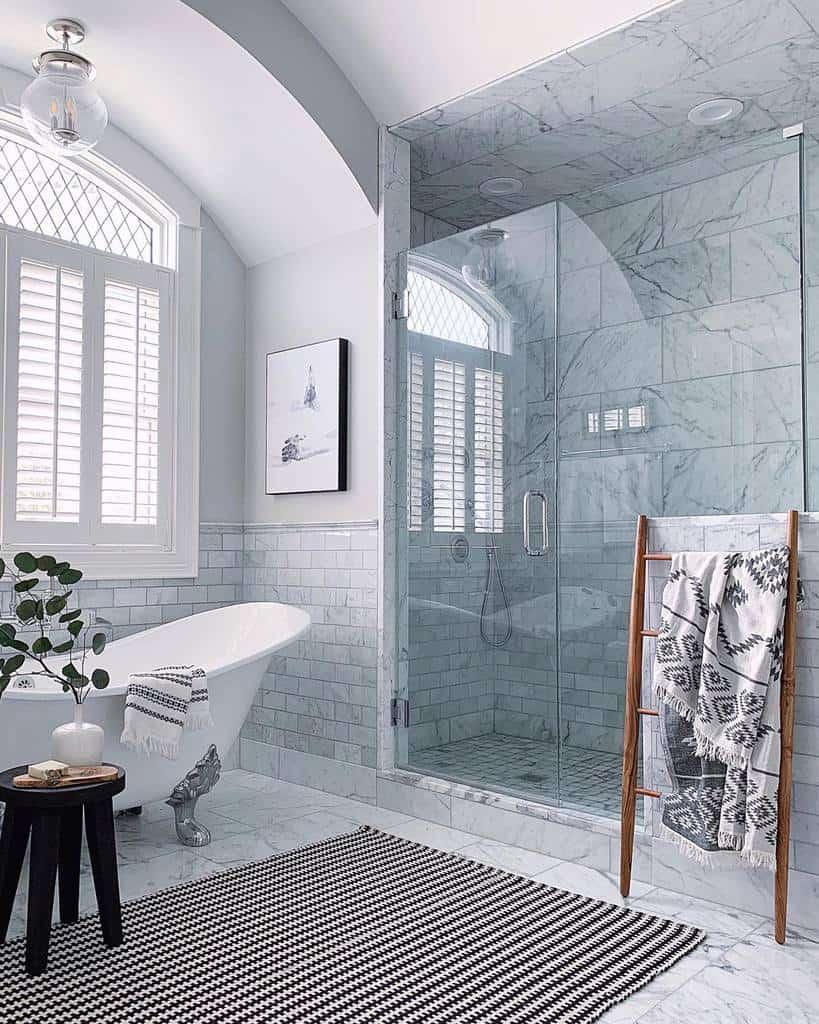 Modern Wet Room Ideas -lemonleafhomeinteriors