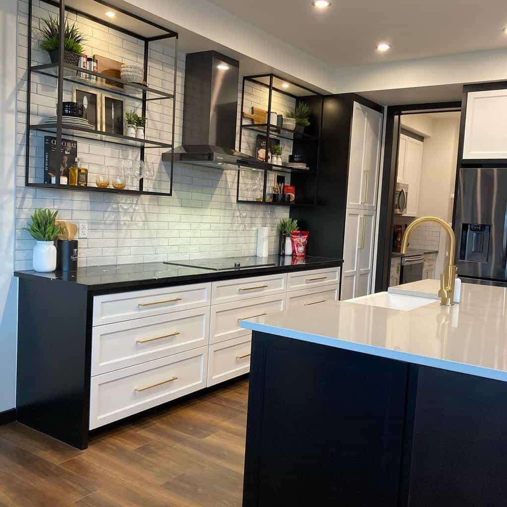 Narrow Kitchen Shelf Ideas -design_dan_can