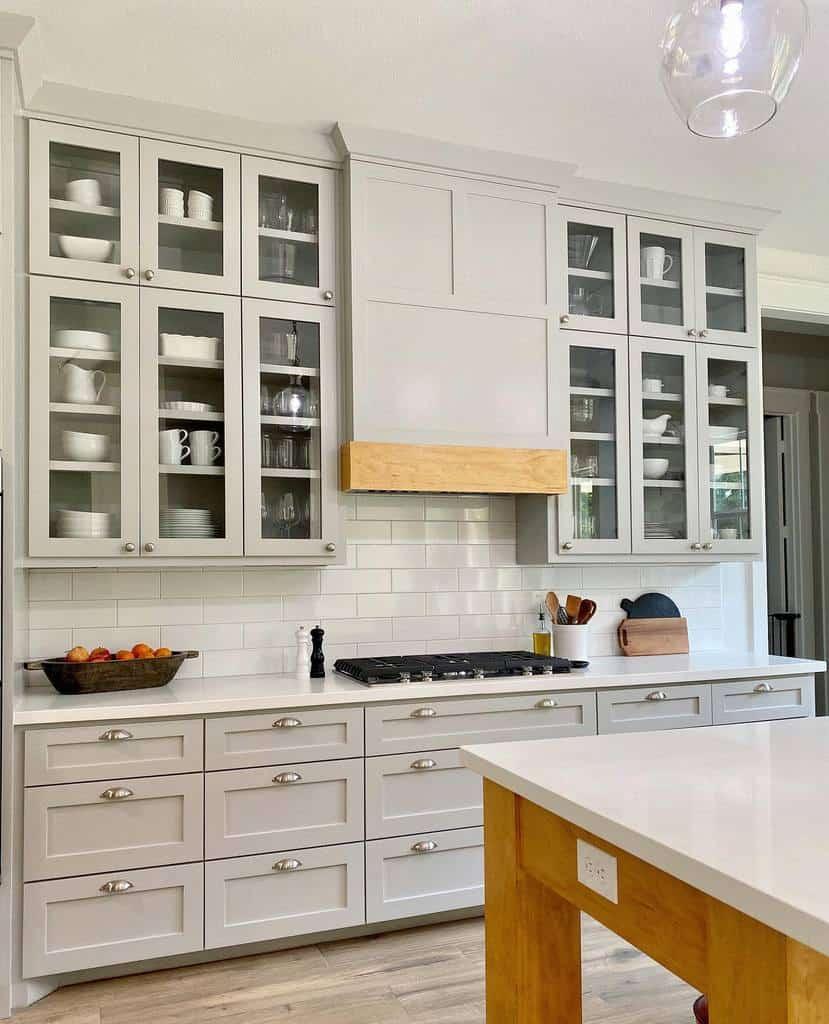 Narrow Kitchen Shelf Ideas -happilyeverafterinrosharon