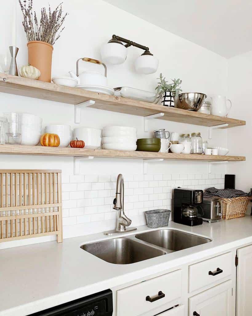 Narrow Kitchen Shelf Ideas -mydarlingchaos