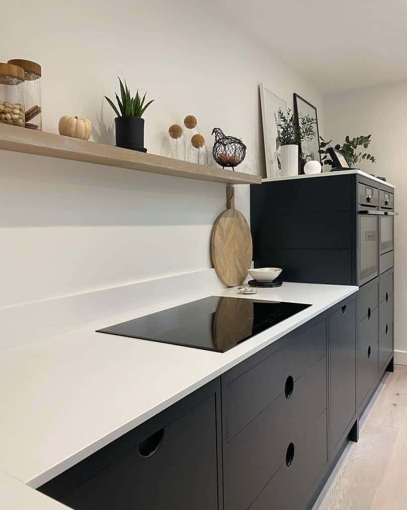 Narrow Kitchen Shelf Ideas -ninapeths