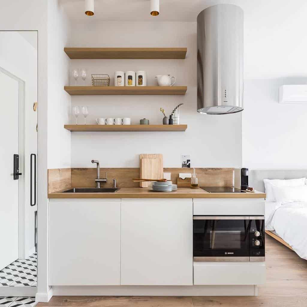 Narrow Kitchen Shelf Ideas -spb.place.apartments