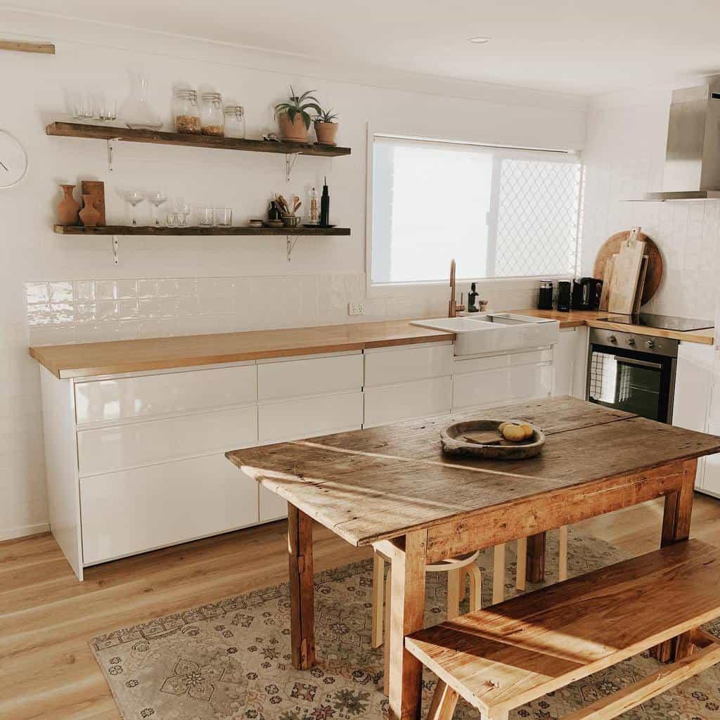 Narrow Kitchen Shelf Ideas -the_beachflat
