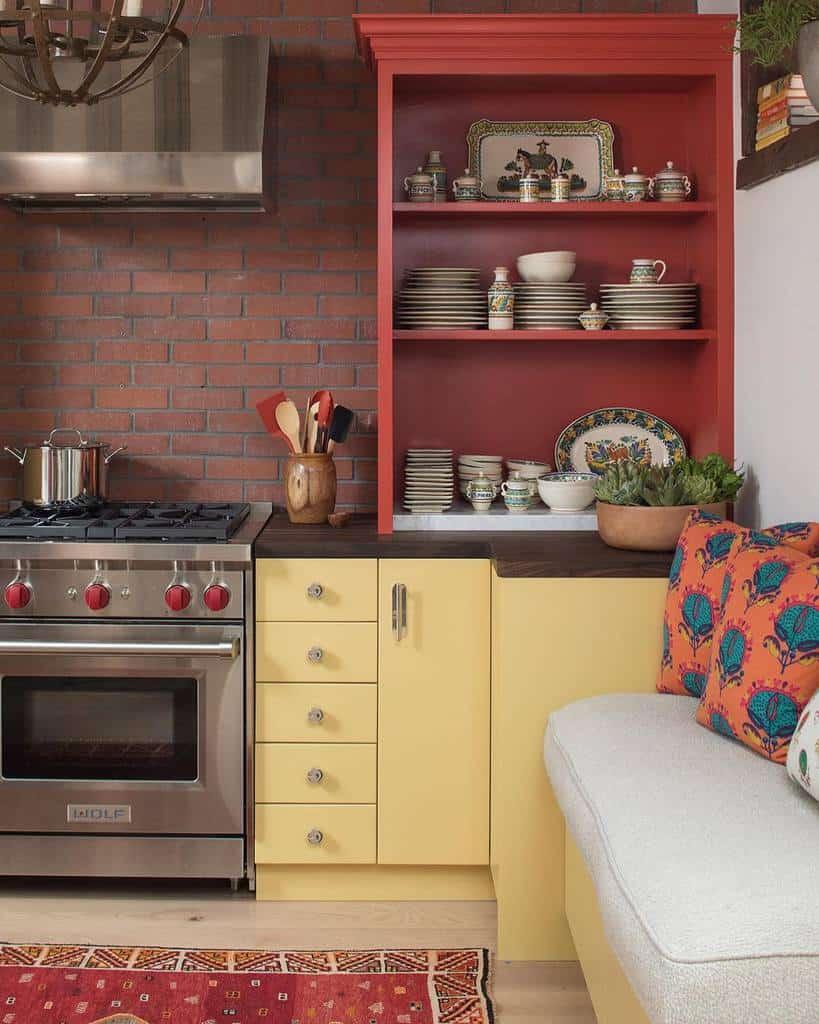 Narrow Kitchen Shelf Ideas -thekitchendesigngroup