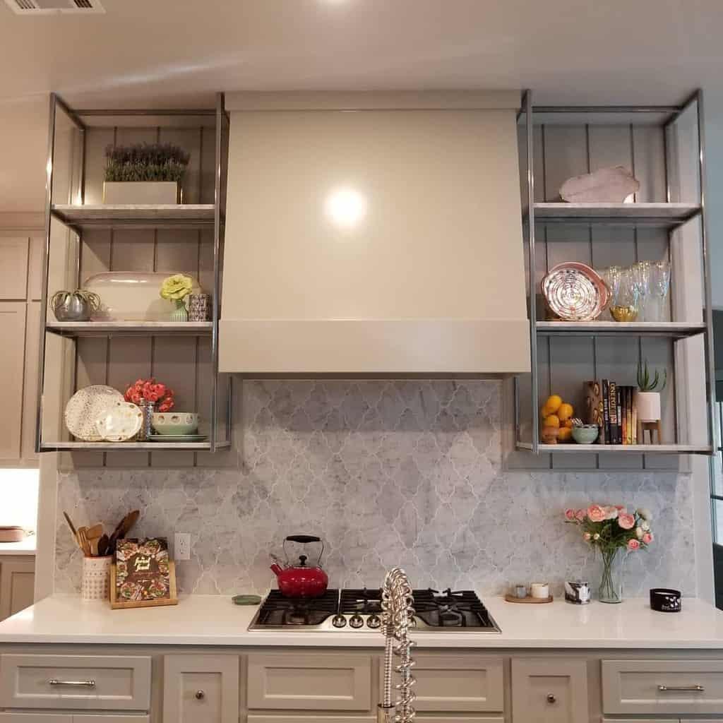 Narrow Kitchen Shelf Ideas -urbanironcraft
