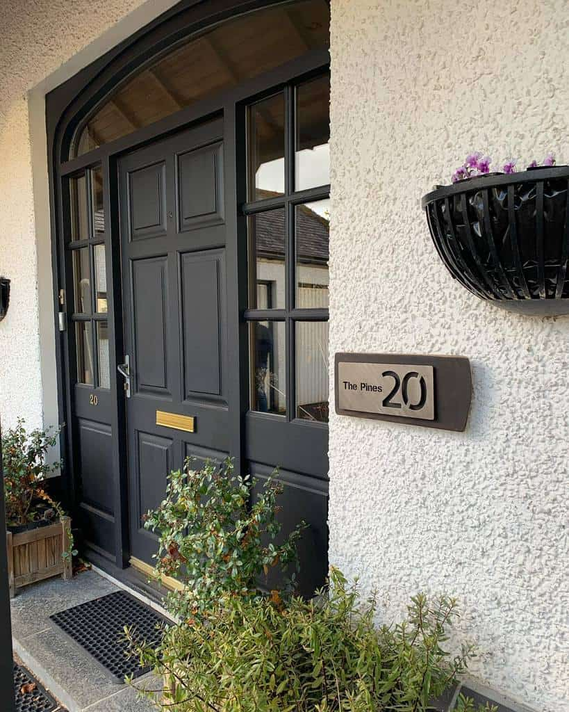 Number Plate House Number Ideas -jamesritchiesculptor
