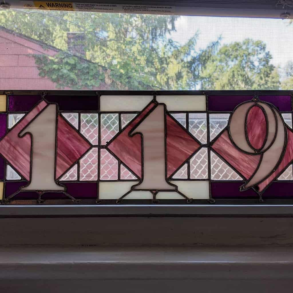 Number Plate House Number Ideas -syzygyglassworks