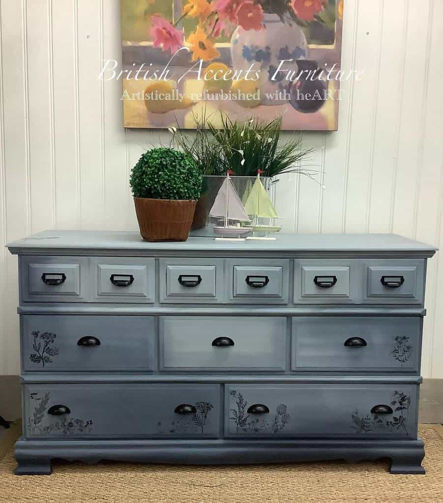 Ombre Chalk Paint Furniture Ideas -british_accents_furniture